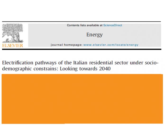 decarbonizzazione settore residenziale in Italia